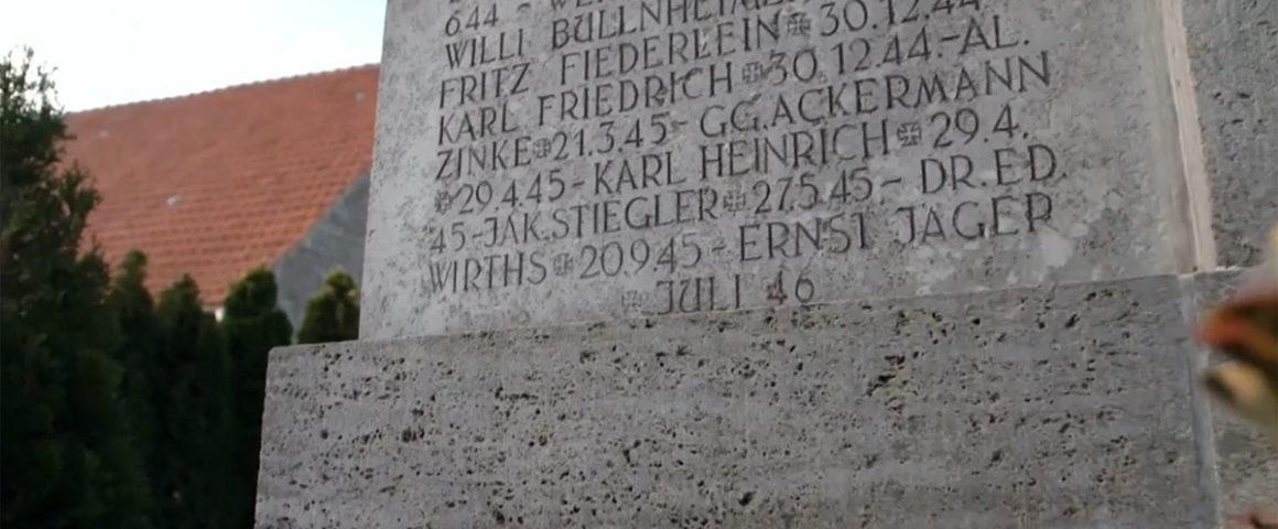Kriegerdenkmal Geroldshausen