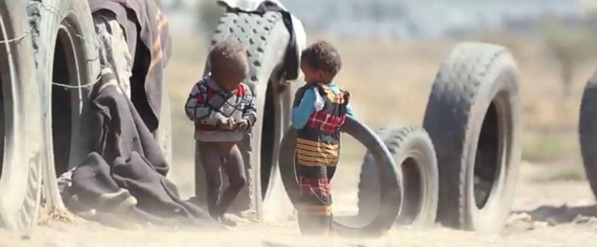 Kindern in Jemen