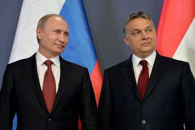 Viktor Orban mit Vladimir Putin
