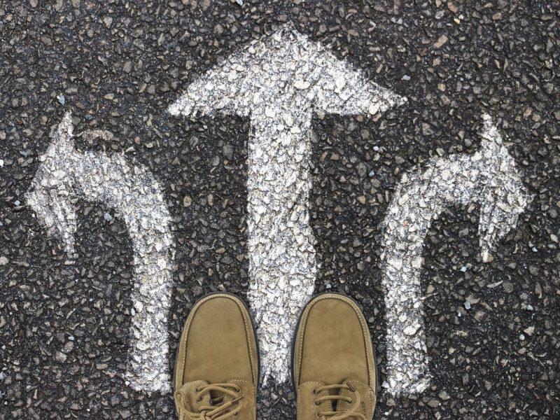 Richtungs-Pfeile