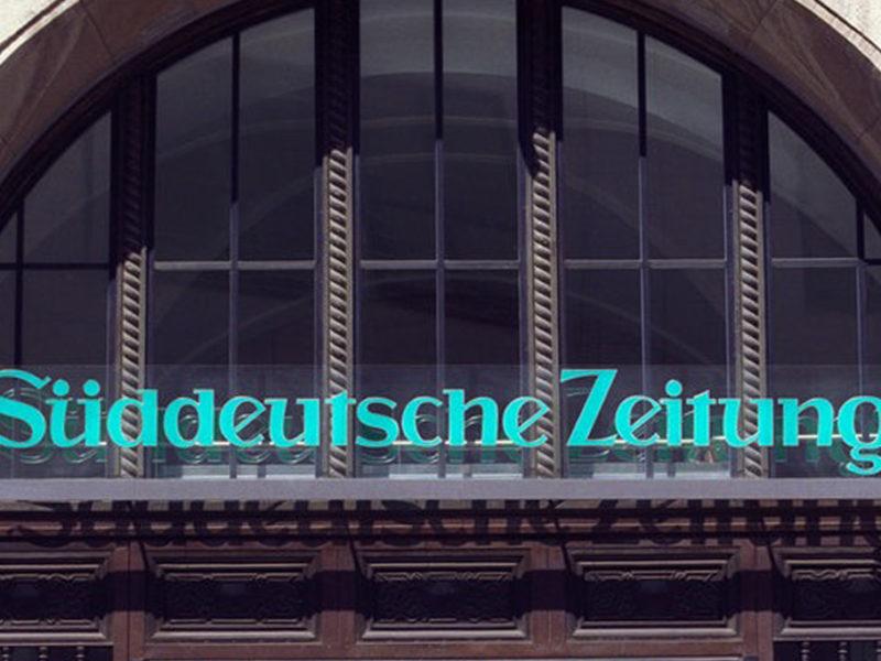 Eingang Süddeutsche Zeitung