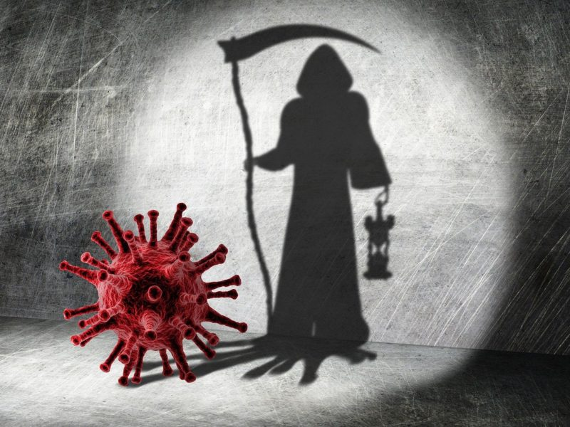Corona und Tod - Symbobild