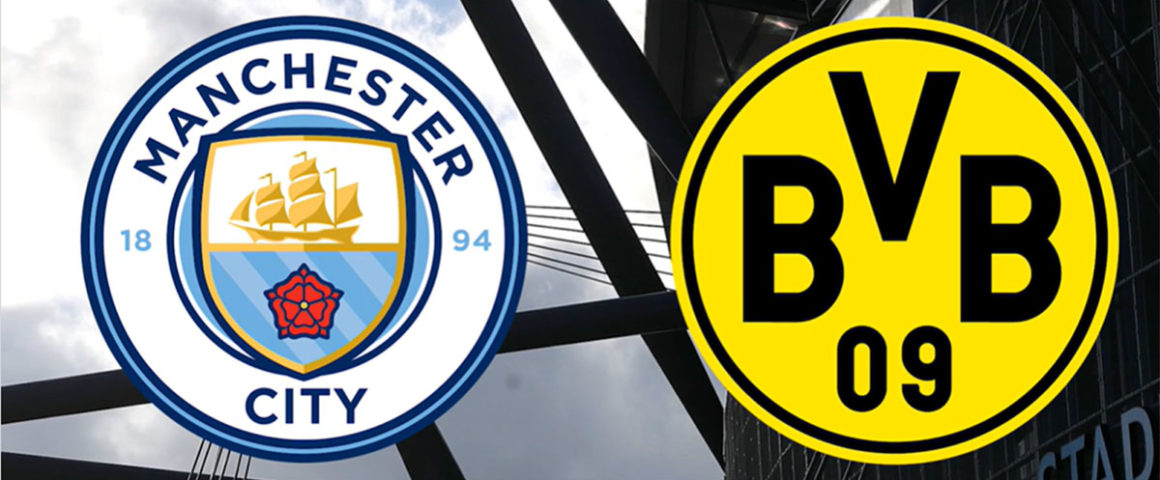 Logo BVB 09 und Manchester City