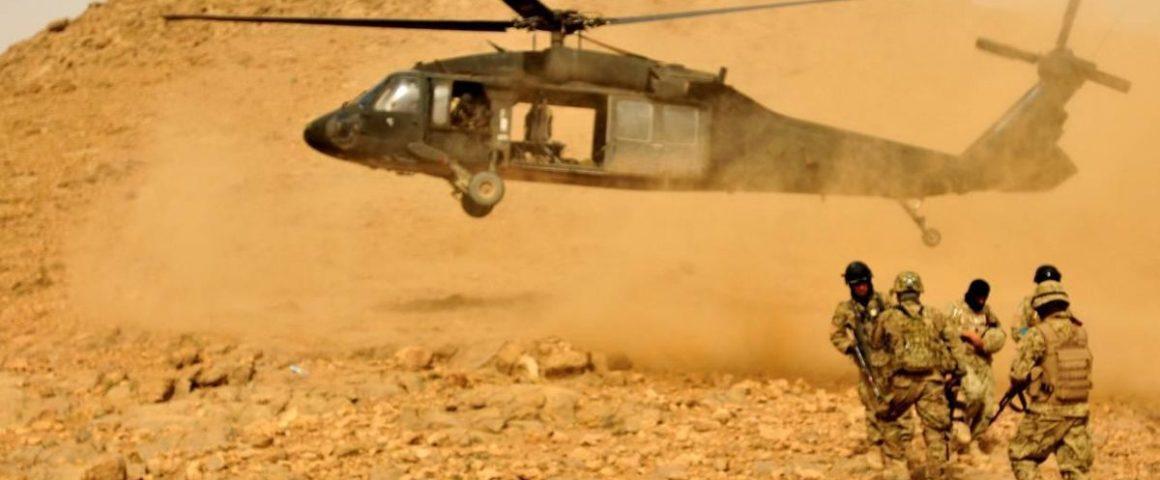 NATO und Afghanische Truppenübung