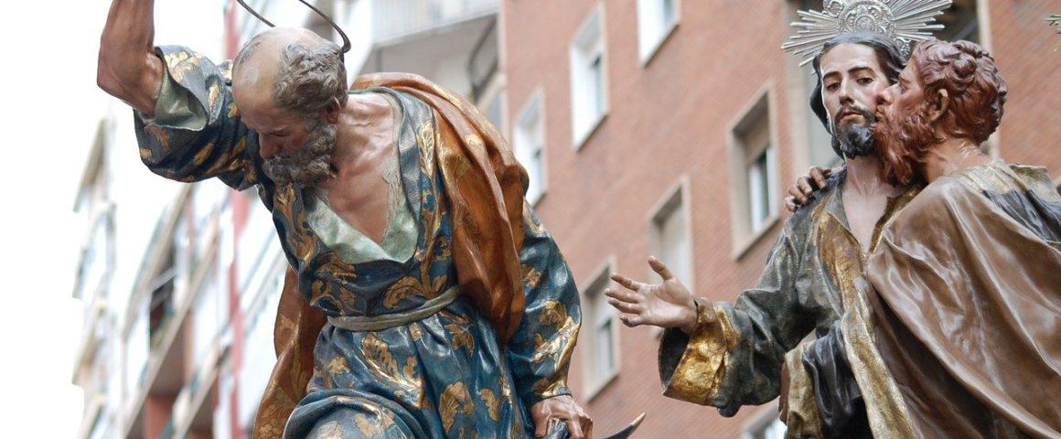 Judas und Jesus