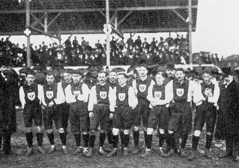 Erste DFB-Mannschaft 1908