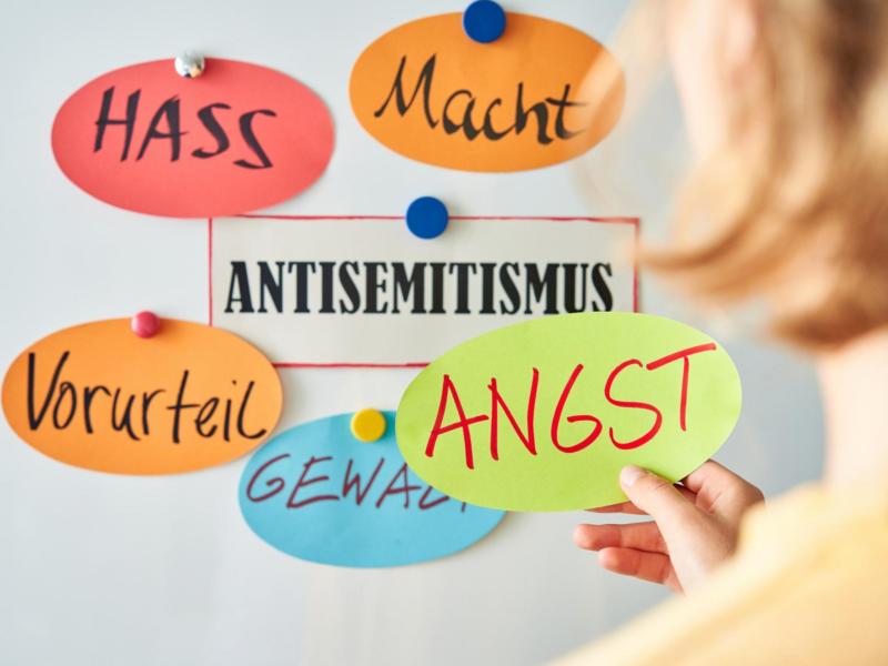 Elemente des antisemitismus - Schaubild