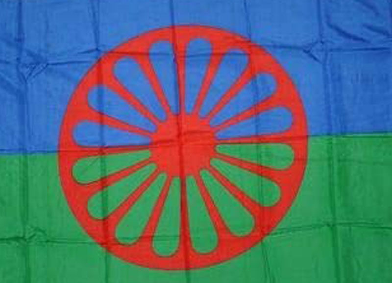 Sinti und Roma Flagge