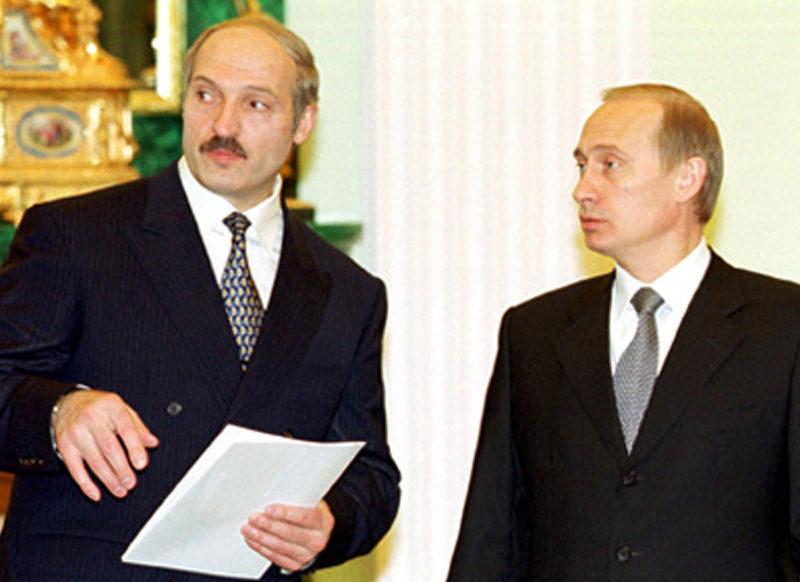 Lukashenko mit Putin
