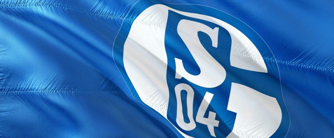 Schalke-Fahne