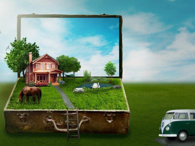 Grüne Träume vom bürgerlichen Glück - Symbolbild