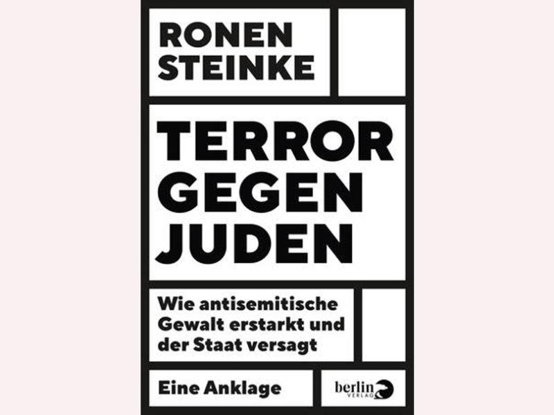 """Buchtitel """"Terror gegen Juden"""""""