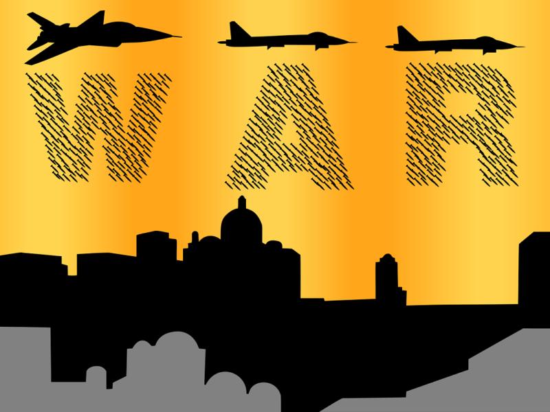 Krieg -Symbobild