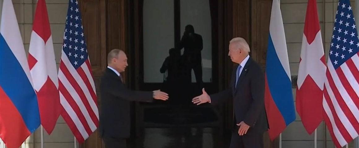 Putin und Biden in Genf 16. Juni 2021
