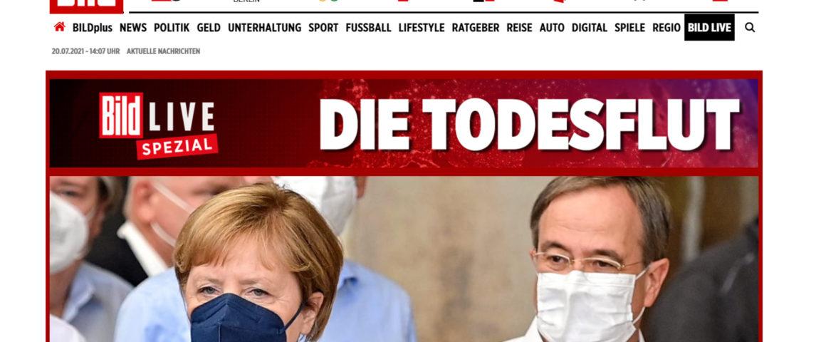 Schamlose Schlagzeile der BILD-Zeitung