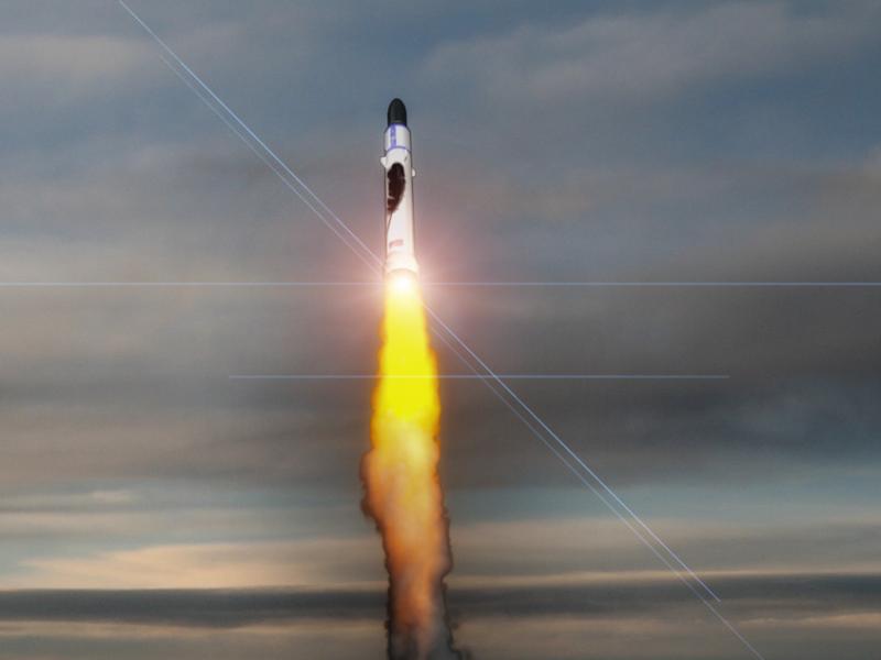 Blue Origin Rakete