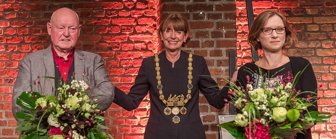 Verleihung Hans-Böckler-Preis der Stadt Köln 2021 an Lisa Herzog und Konrad Gilges