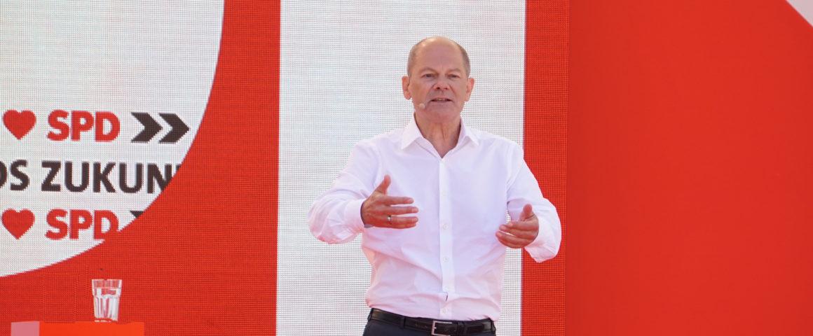 Olaf Scholz, 14.8.2021 in Bochum