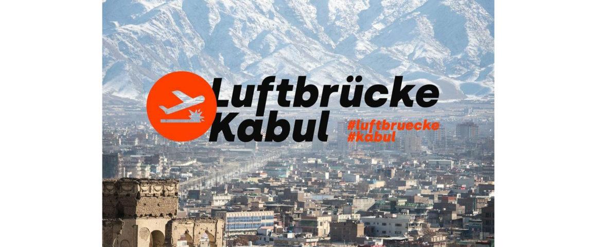 Spendenaufruf Luftbrücke Kabul