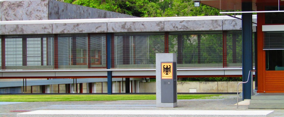 Gebäude des Bundesverfassungsgerichts
