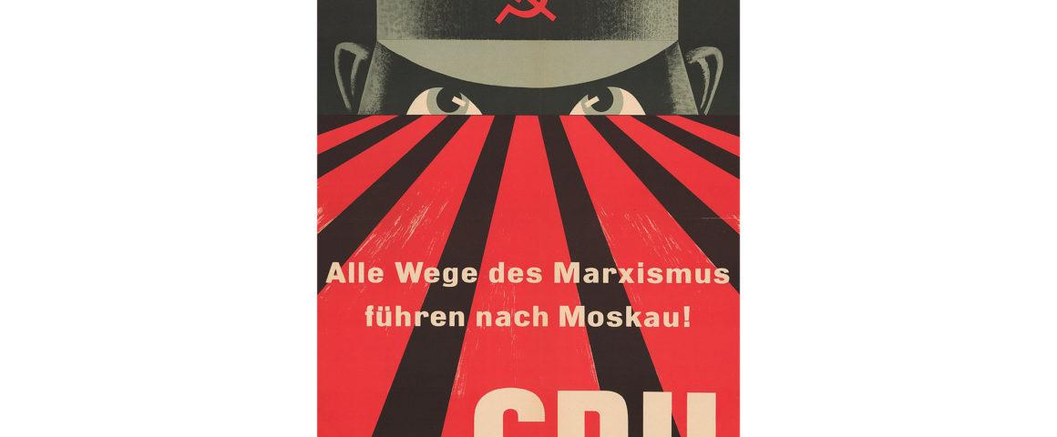 CDU Wahlplakat 1953