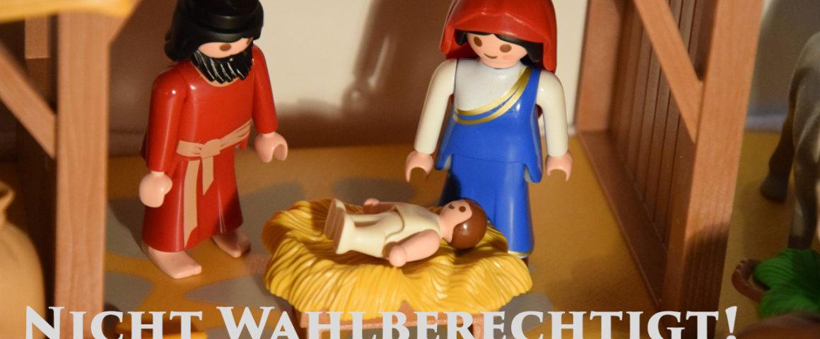 Maria, Josef, Christuskind