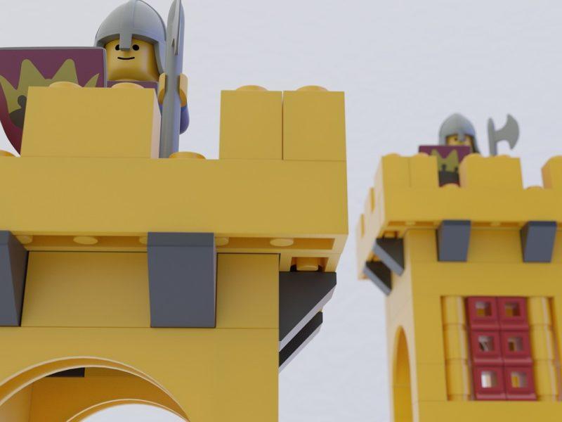 Spielzeugburg