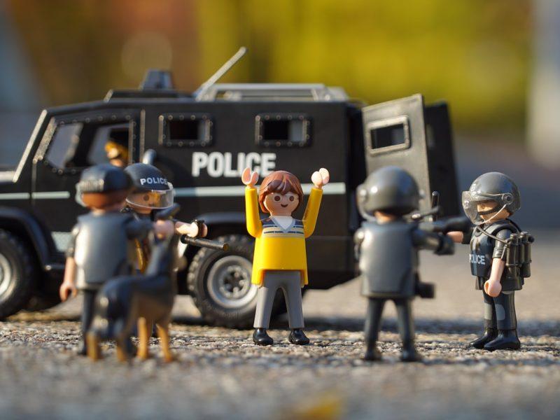 Polizeieinsatz - Playmobilfiguren