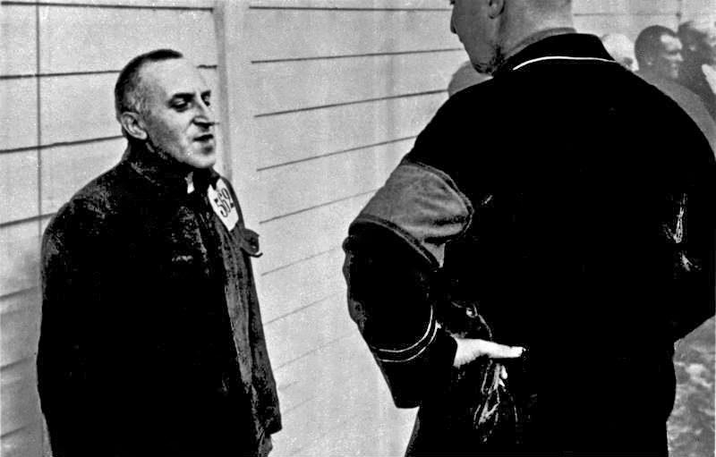 Ossietzky im Konzentrationslager Esterwegen (1934)