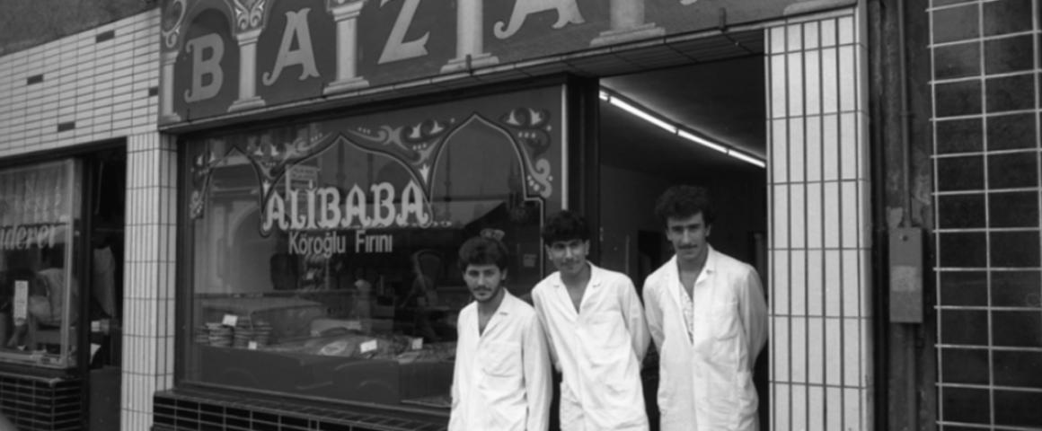 Türkischer Laden in den 60er Jahren