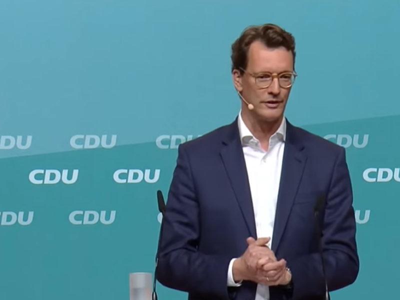 Hendrik Wüst, 23.10.2021, Parteitag der NRW CDU
