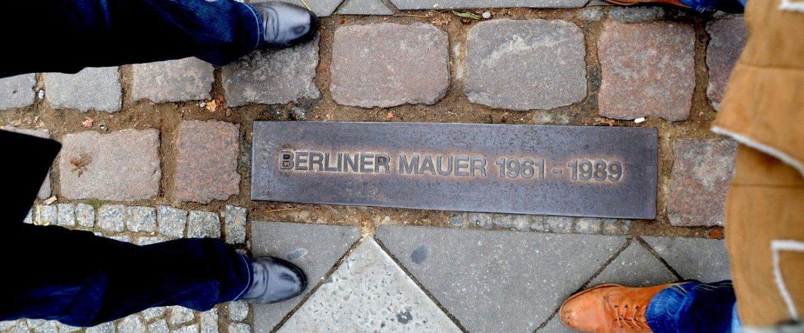 Markierungslinie Berliner Mauer